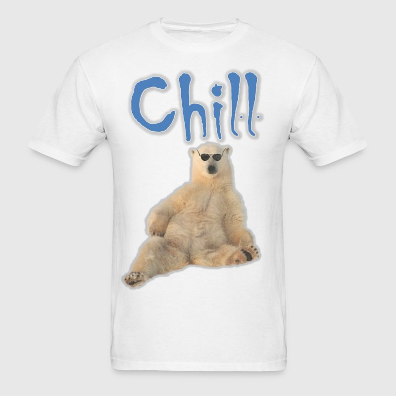 Chill Polar Bear T-Shirts - Men's T-Shirt