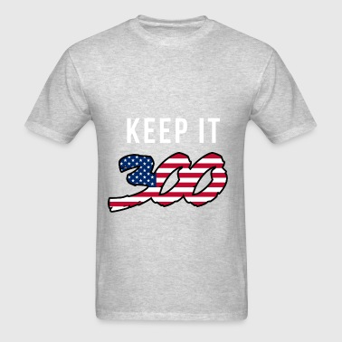 Keep it 300 (2) Long Sleeve Shirts - Men's T-Shirt