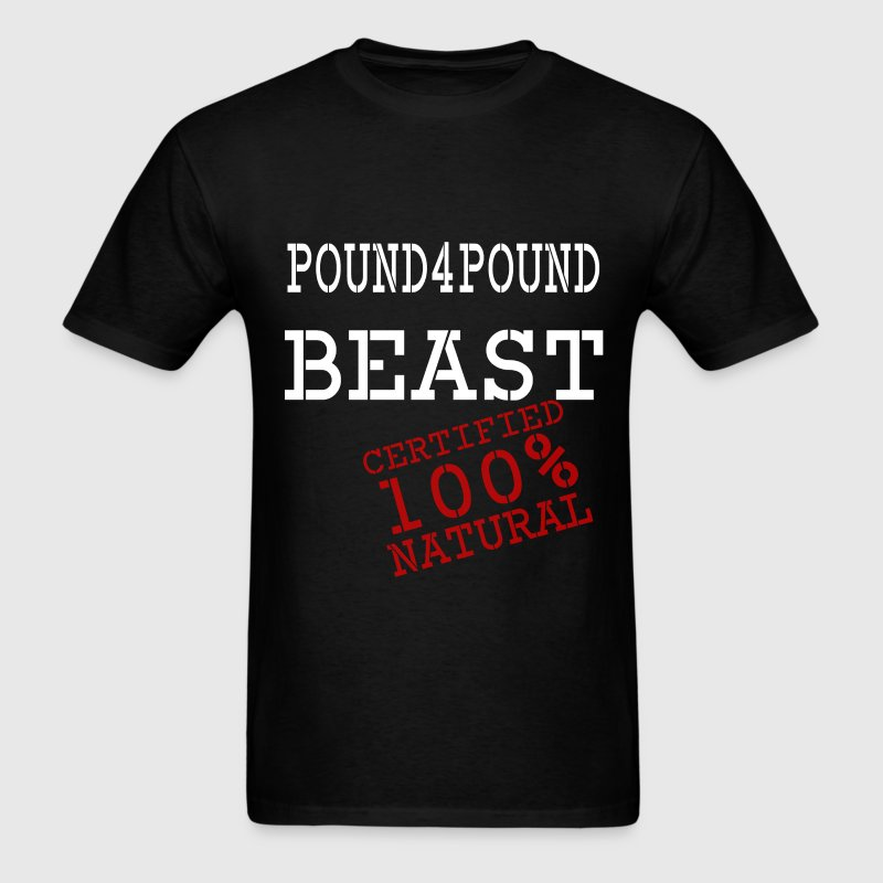 WHITEP4PBEAST100PERCENT.PNG T-Shirts - Men's T-Shirt