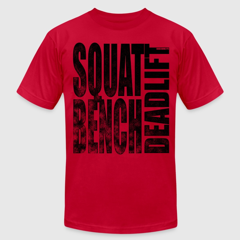 Squat Bench Deadlift 2 - Men's Fine Jersey T-Shirt