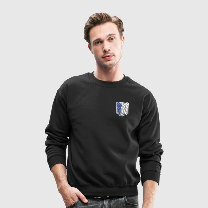Recon Corps Attack on Titan Long Sleeve Shirts - Crewneck Sweatshirt