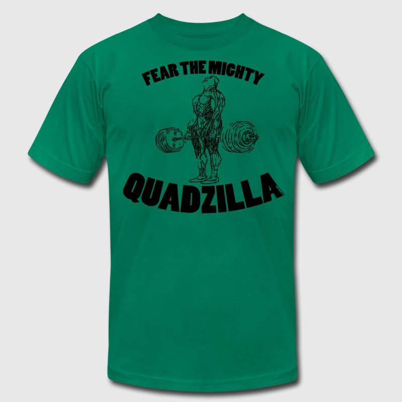 Quadzilla 1 - Men's T-Shirt by American Apparel
