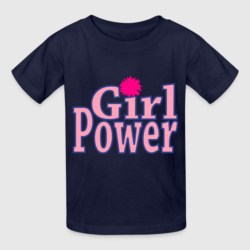 Girl Power Girls T-Shirt - Kids' T-Shirt