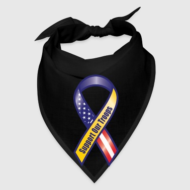 Support the Troops - Military - Army - Soldiers Bags & backpacks - Bandana