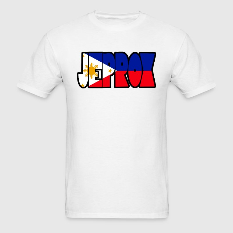 Jeprox Mens Filipino Tshirt - Men's T-Shirt