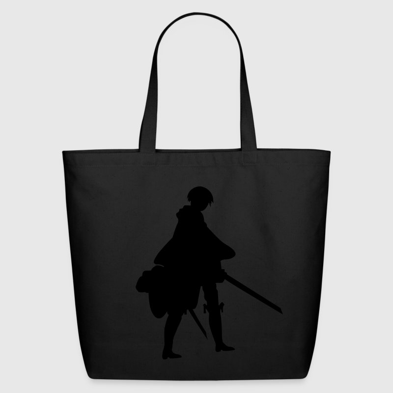 Captain Levi Shingeki no Kyojin Bags & backpacks - Eco-Friendly Cotton Tote