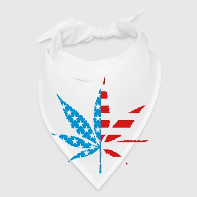 Marijuana Leaf American Flag Phone & Tablet Covers - Bandana