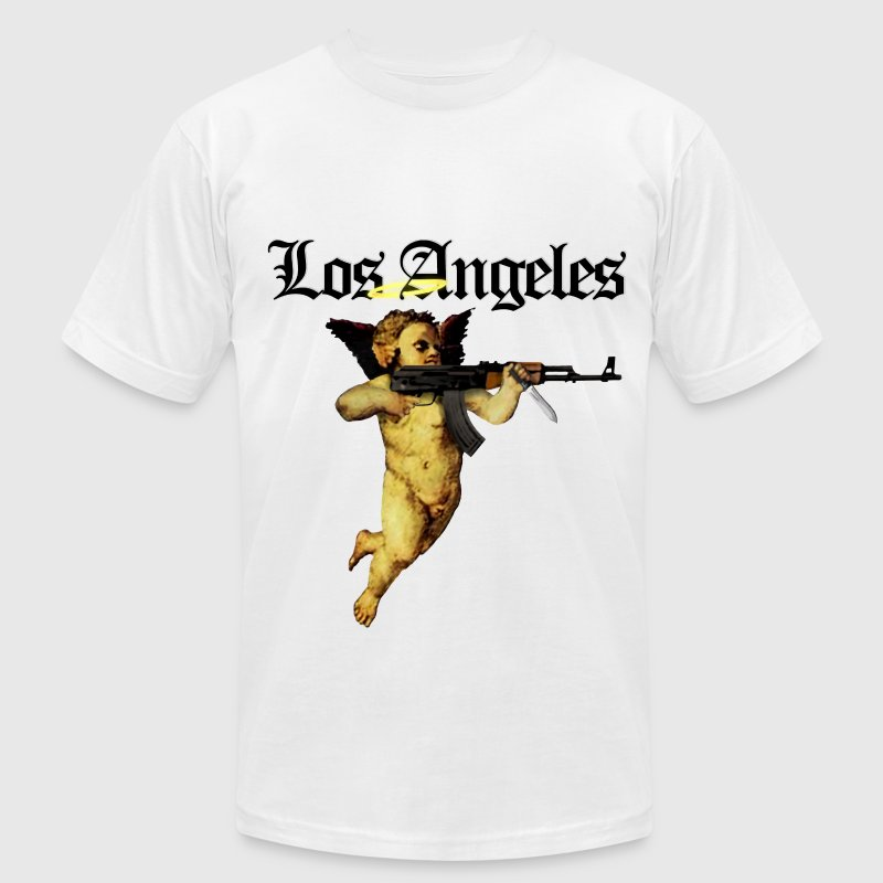 LOS ANGELES - Men's T-Shirt by American Apparel