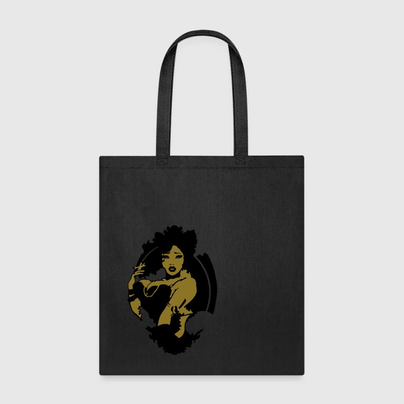Pinup - Sexy Smoking Pinup Girl Bags & backpacks - Tote Bag