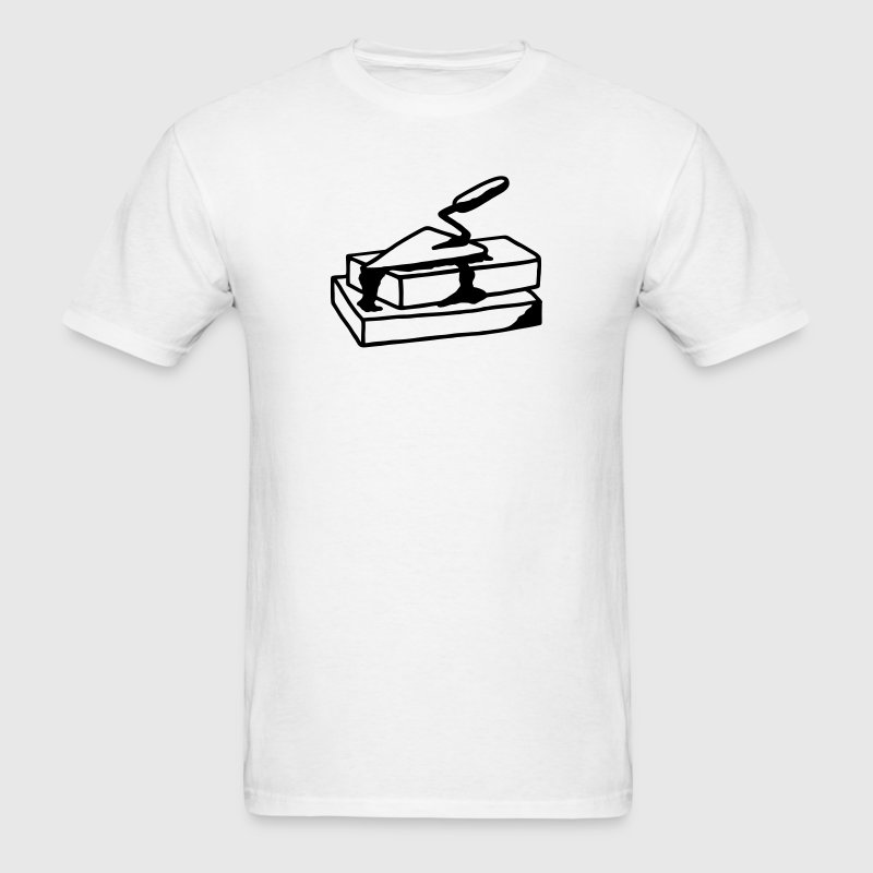 Trowel and bricks - Mason T-Shirts - Men's T-Shirt