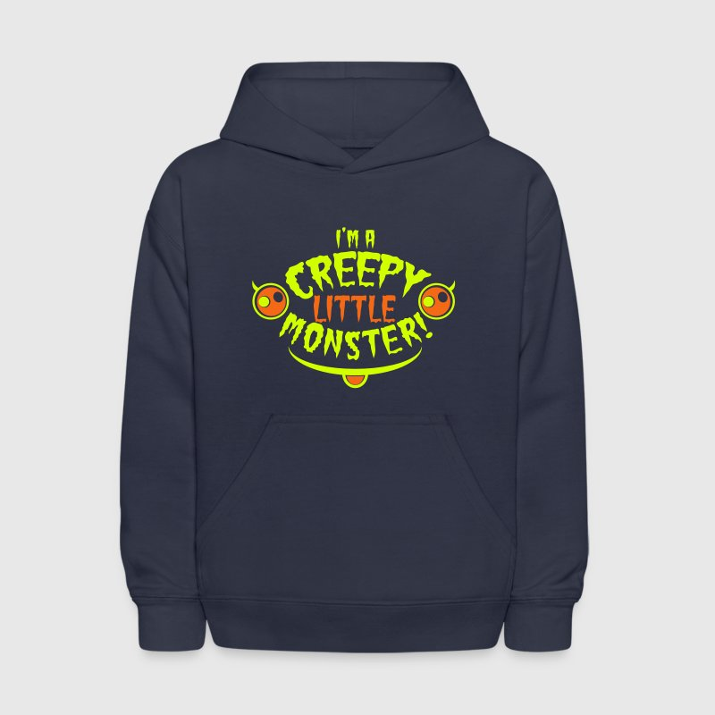 I'm a CREEPY little Monster Halloween costumes Sweatshirts - Kids' Hoodie