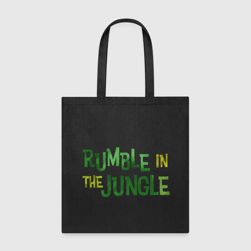 rumble in the jungle - Tote Bag