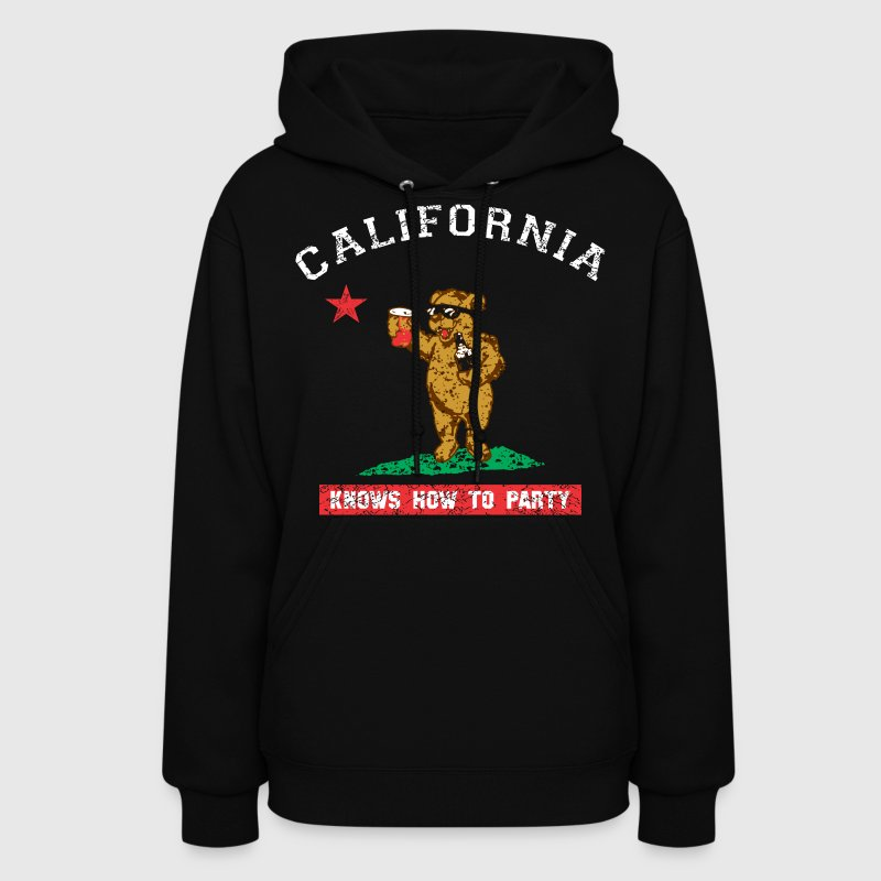 Young California Knows To Party Hoodies - Women's Hoodie