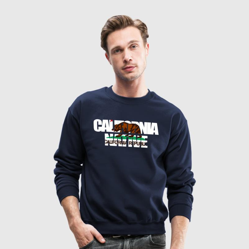 CALIFORNIA native Long Sleeve Shirts - Crewneck Sweatshirt