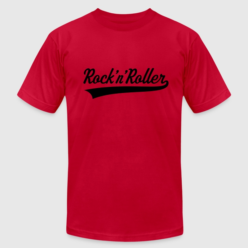 Rock 'n' Roller T-Shirts - Men's T-Shirt by American Apparel