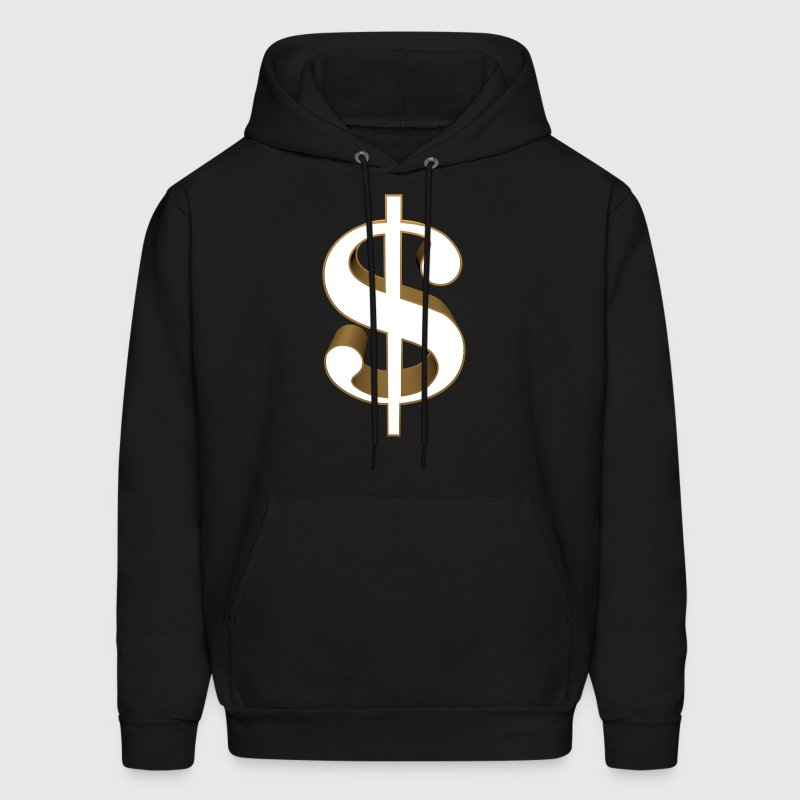 Dollar Sign Hooded Sweatshirt - Men's Hoodie