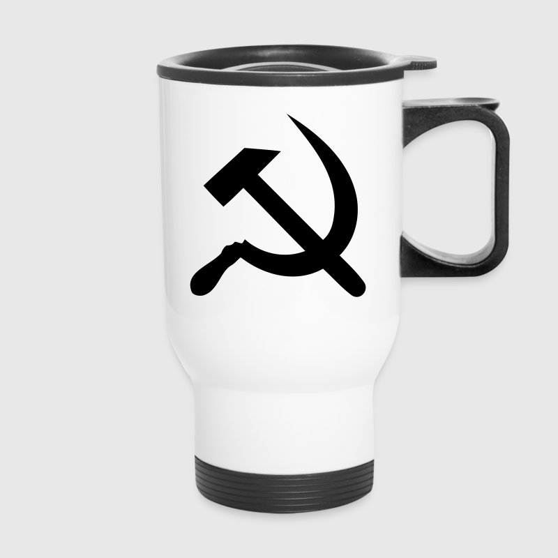 hammer - sickle Bottles & Mugs - Travel Mug