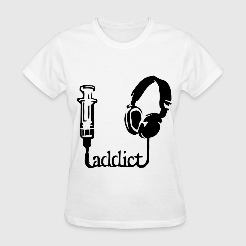 Headphones Addict Women's T-Shirts - Women's T-Shirt