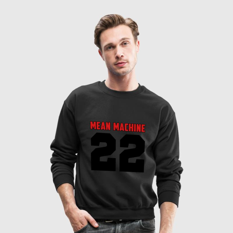Mean Machine Long Sleeve Shirts - Crewneck Sweatshirt