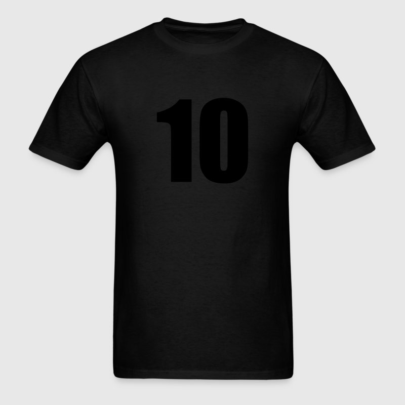 Number Ten T-Shirts - Men's T-Shirt