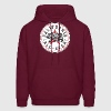 California Converse Black and Red Hoodies - Men's Hoodie