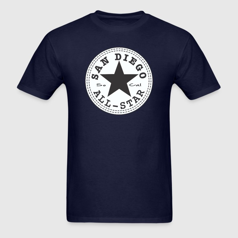 San Diego All Star T-Shirts - Men's T-Shirt