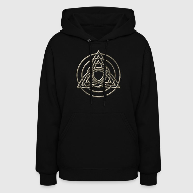 Triple Triquetra, Trinity, Symbol of perfection Hoodies - Women's Hoodie