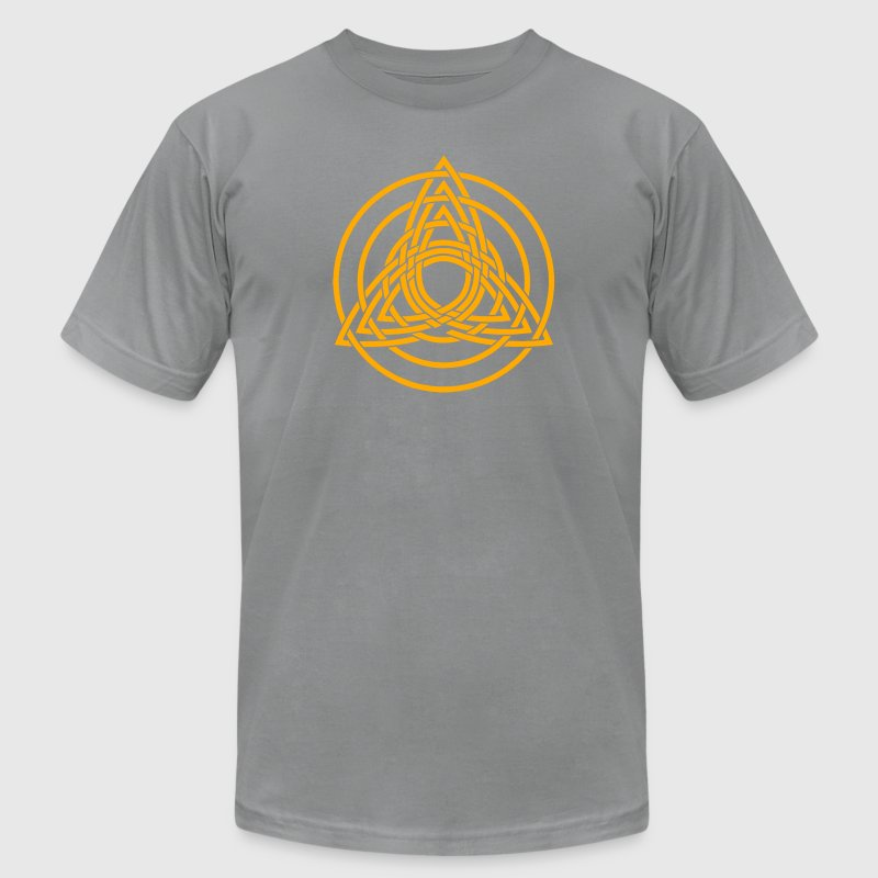 Triquetra, Germanic paganism, Celtic art, T-Shirts - Men's Fine Jersey T-Shirt