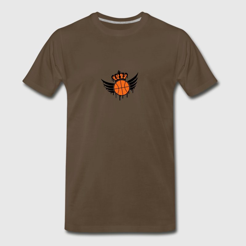 Basketball Blazon Logo Graffiti T-Shirts - Men's Premium T-Shirt