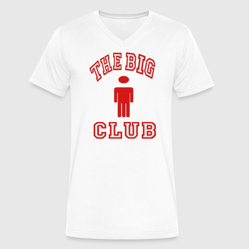 THE BIG DICK CLUB T-Shirts - Men's V-Neck T-Shirt by Canvas