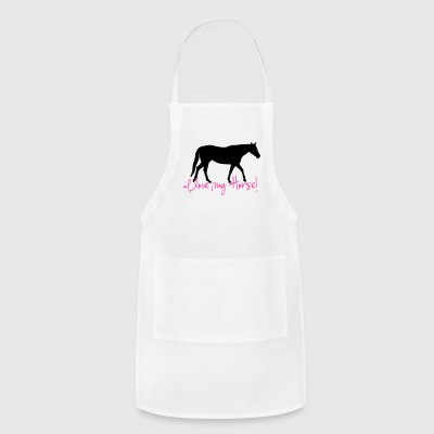 I love my Horse  Phone & Tablet Cases - Adjustable Apron