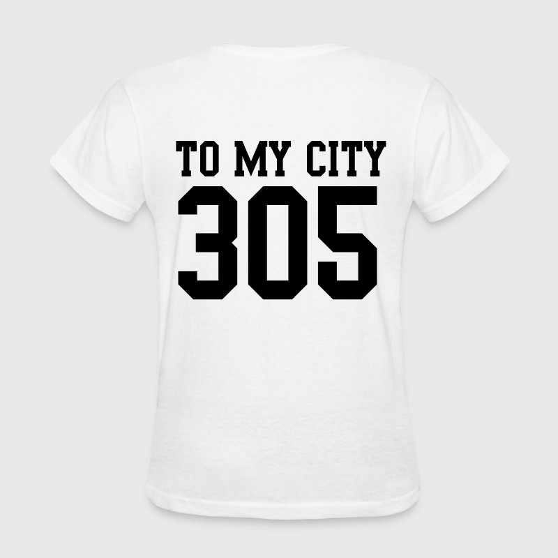 305 to my city - Women's T-Shirt