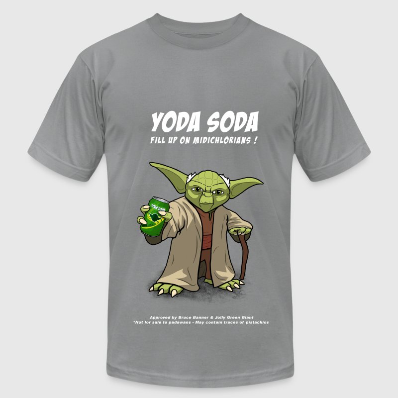 Yoda Soda - Men's T-Shirt by American Apparel