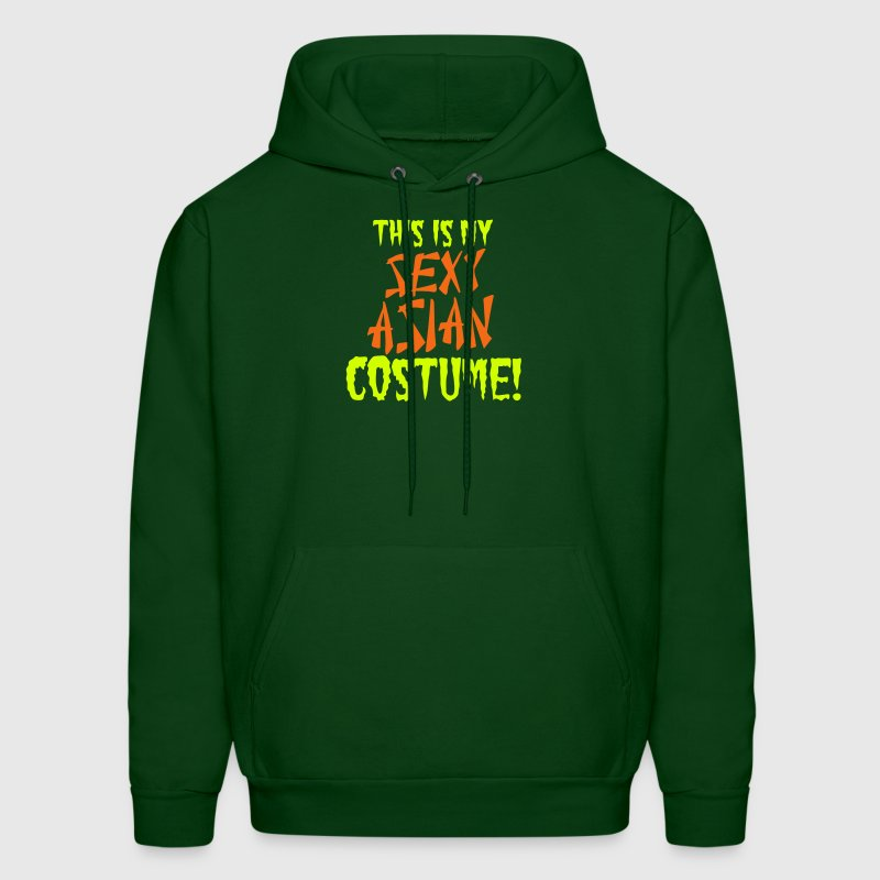 This is my SEXY Asian costume for Halloween Hoodies - Men's Hoodie