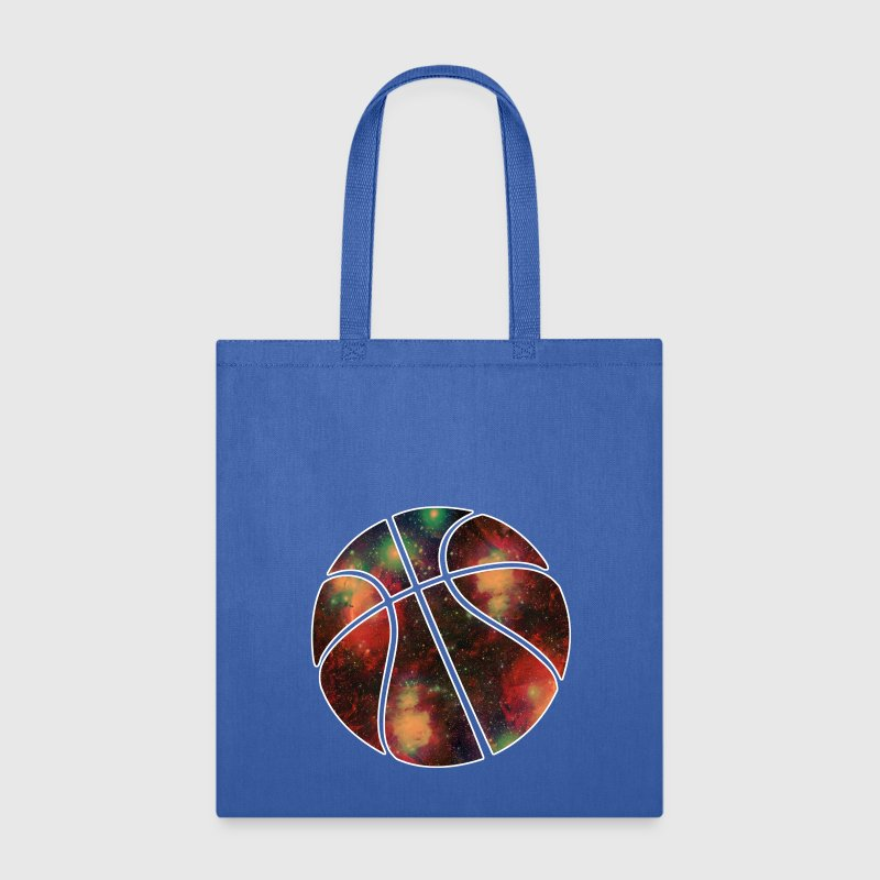 basketball galaxy Bags & backpacks - Tote Bag