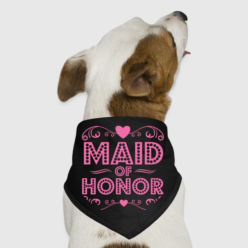 Maid of Honor Dog T-Shirts - Dog Bandana