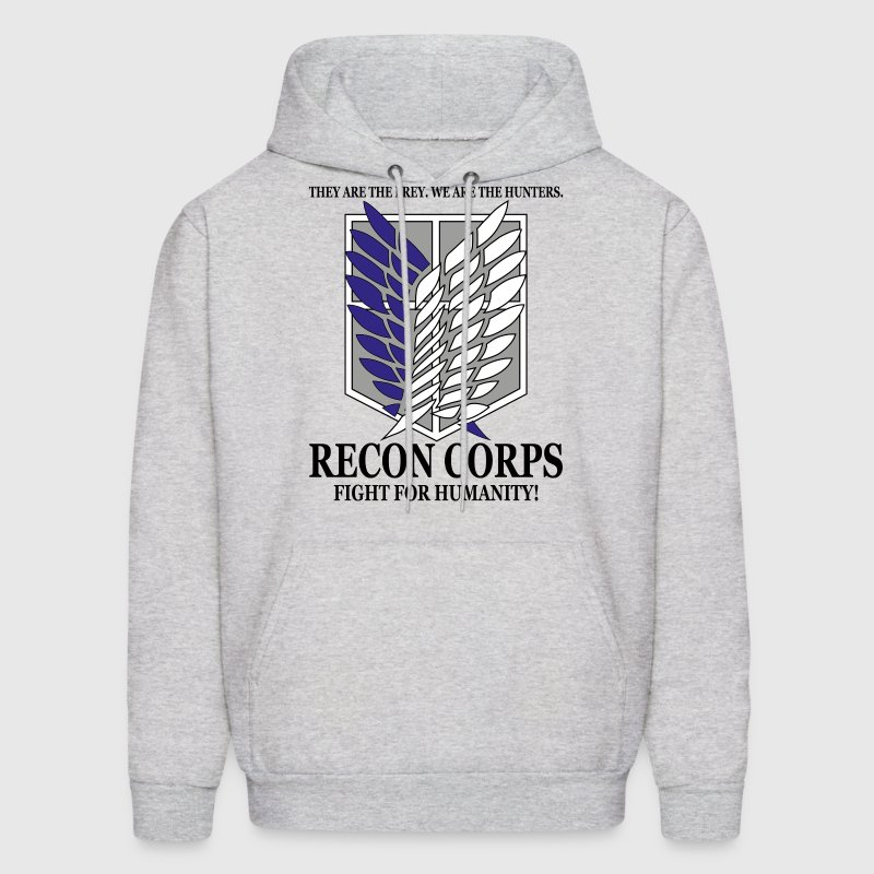 Recon Corps- Attack on Titan Hoodies - Men's Hoodie