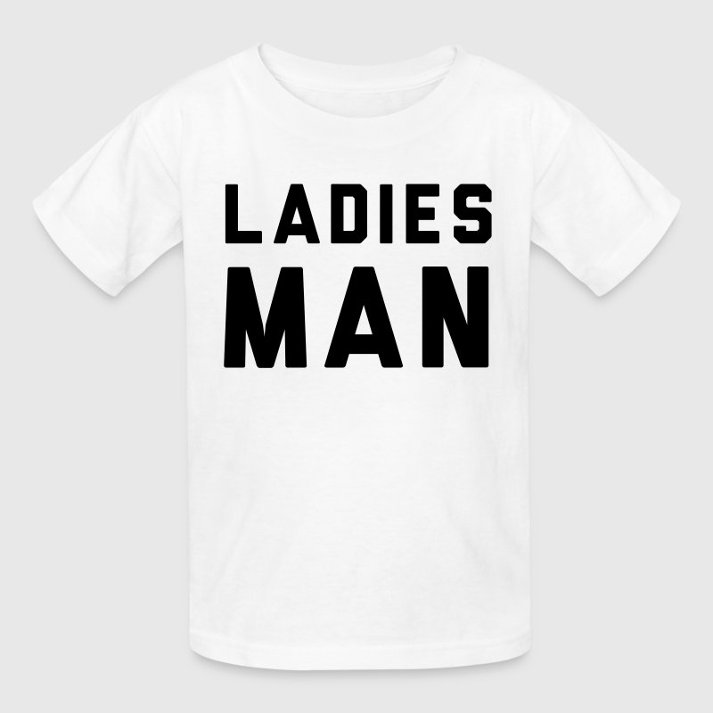 Ladies Man Kids' Shirts - Kids' T-Shirt
