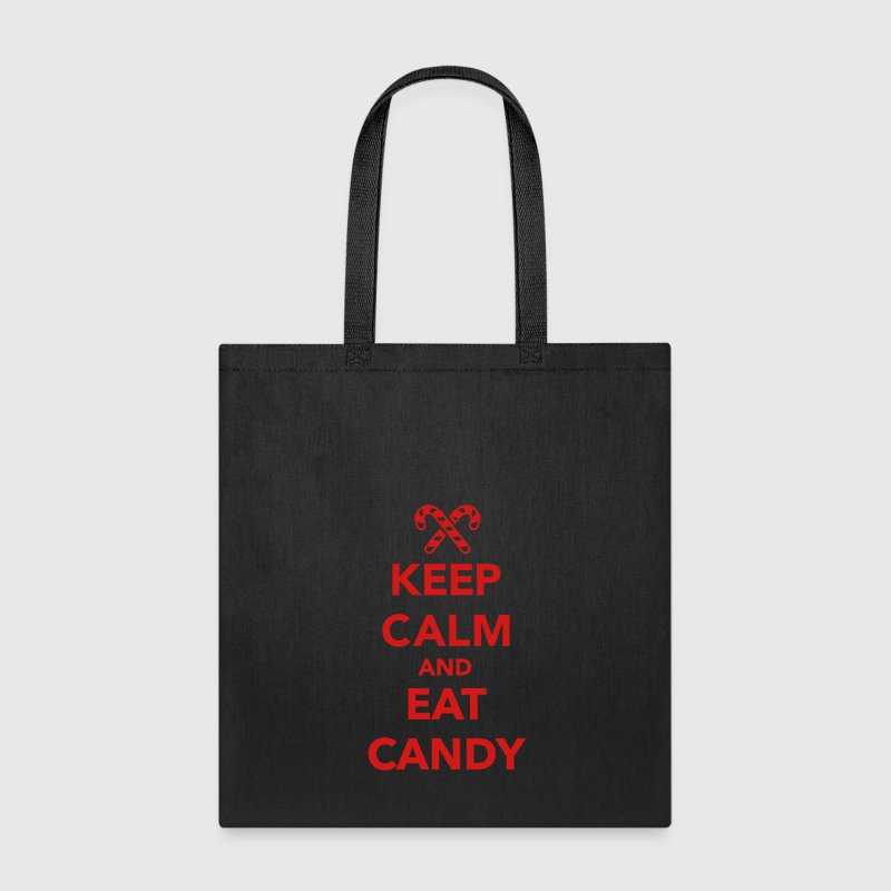 Keep calm and eat candy Bags & backpacks - Tote Bag