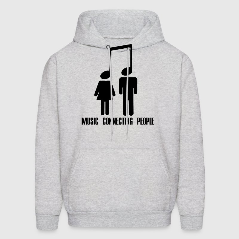 Music Connecting People Hoodies - Men's Hoodie