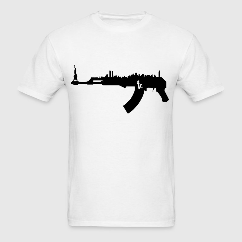 AK47 NY Skyline Hoodies - Men's T-Shirt