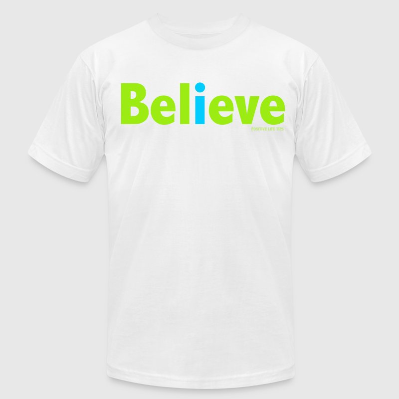 I Believe T-Shirts - Men's T-Shirt by American Apparel