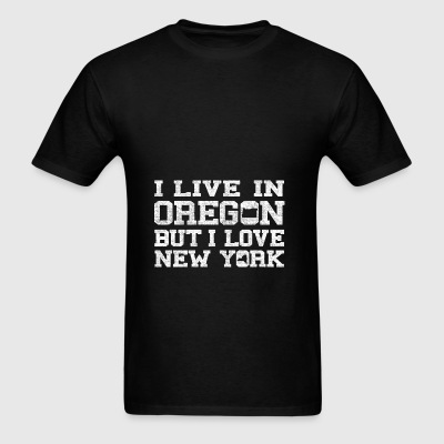 Live Oregon Love New Yorl Bags & backpacks - Men's T-Shirt