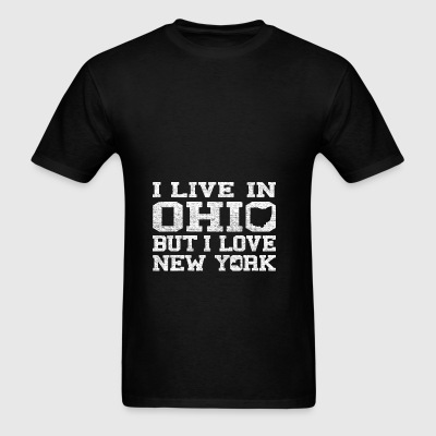 Live Ohio Love New York Bags & backpacks - Men's T-Shirt