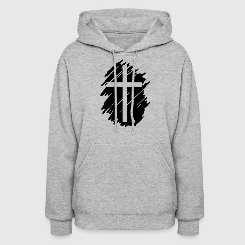 Art Cross Crucifix  Hoodies - Women's Hoodie