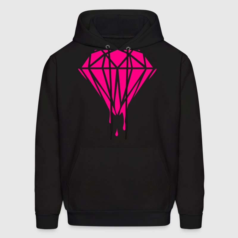 dripping diamond Hoodies - Men's Hoodie