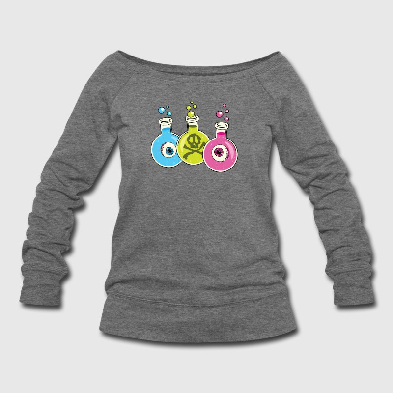 Halloween Chemistry Lab - Women's Wideneck Sweatshirt
