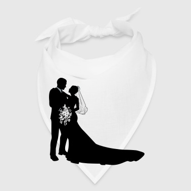 Bride & Groom vector - Bandana