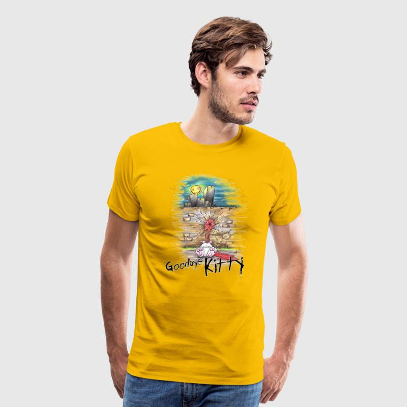 goodbye kitty T-Shirts - Men's Premium T-Shirt