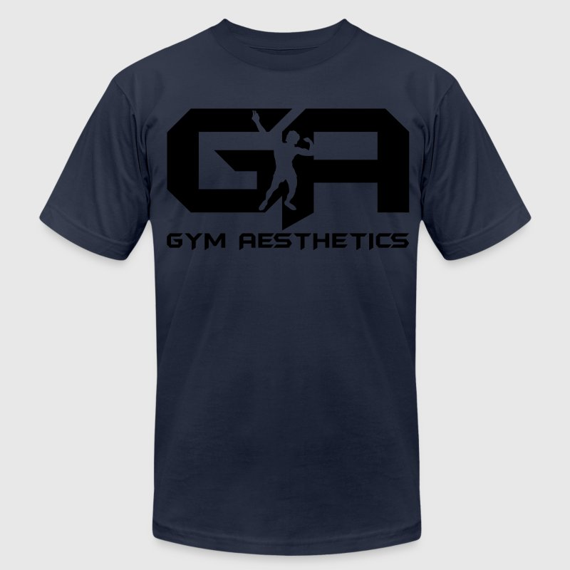 Gym Aesthetics T-Shirts - Men's T-Shirt by American Apparel